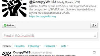 Twitter sticks together with OWS protesters