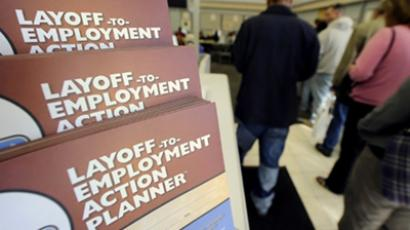 US unemployment on the rise. Again