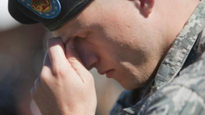 US military suicide rate stable high for 5 years