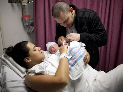 US birth rate hits historic low
