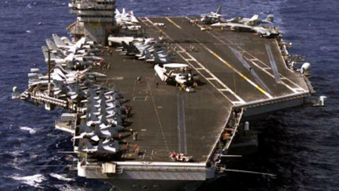 Thousands of US troops arrive near Syrian shore on USS Eisenhower