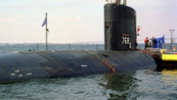 US navy sub and ship collide