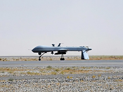 Iran shoots down US spy drone