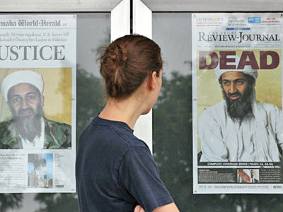 American Justice: Eye for an eye for Osama bin Laden