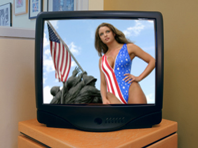 Corporations decide what Americans see on TV