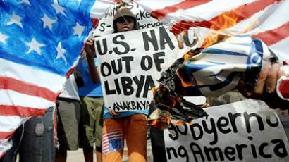Obama sets doctrine on Libya