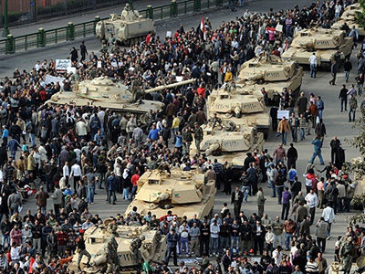 How would the US handle an Egypt style revolt?
