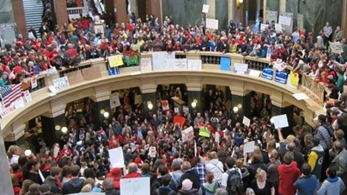 Thousands protest Georgia anti-immigration bills