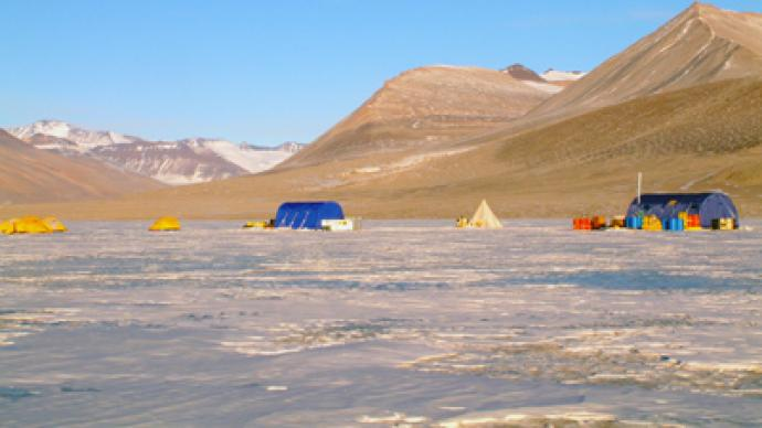 Buried Antarctic lake microbes could shed light on 'Alien life forms'