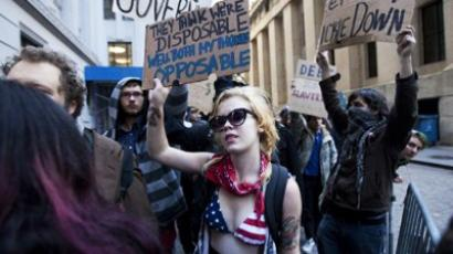 Bloomberg could kick out protesters at Occupy clean-up