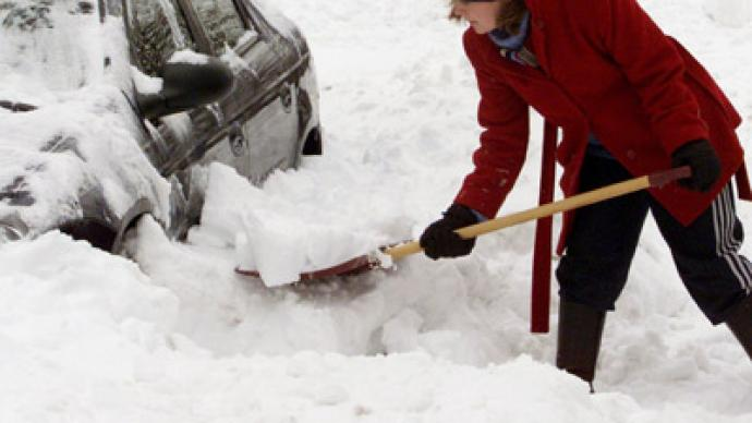 West Virginia hit by blizzards brought by Sandy