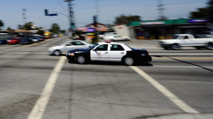 LA woman claims 2 police officers beat her during routine traffic stop