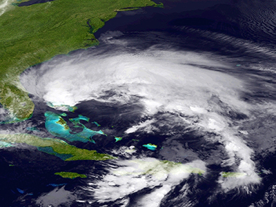 'Frankenstorm' Sandy hits US: LIVE UPDATES