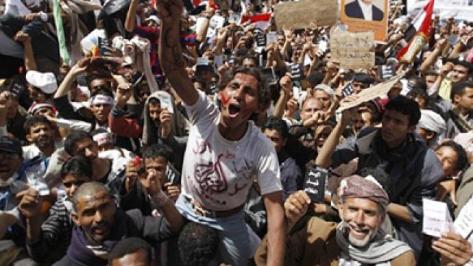 Violence rages in Yemen as America focuses on Libya