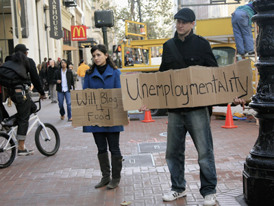 Youth unemployment at highest level since World War II