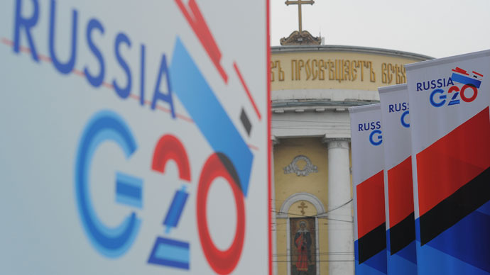 Uphill battle: Russia at the helm of G20