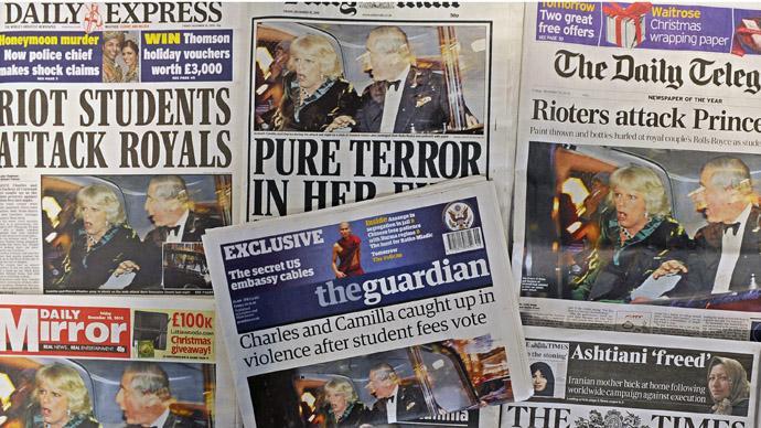 'Press bosses want profit, trust in British media to keep falling'