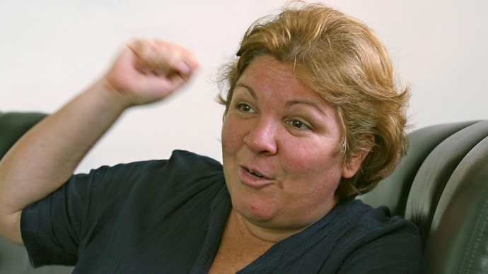 Aleida Guevara (AFP Photo / Adalberto Roque)