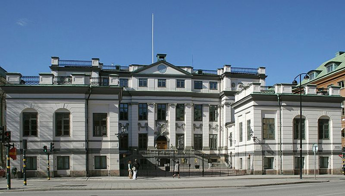 The Supreme Court of Sweden. (Image from wikipedia.org)