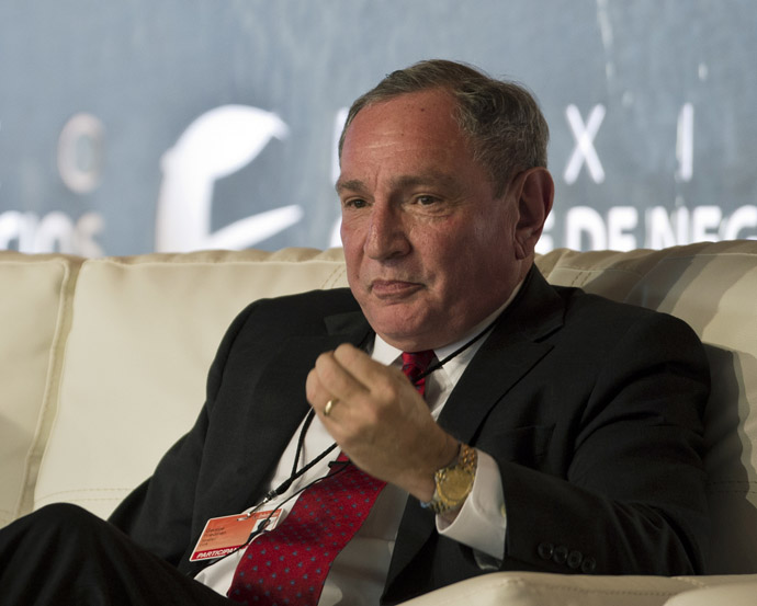 Stratfor Global Intelligence CEO George Friedman (AFP Photo/Ronaldo Schemidt)