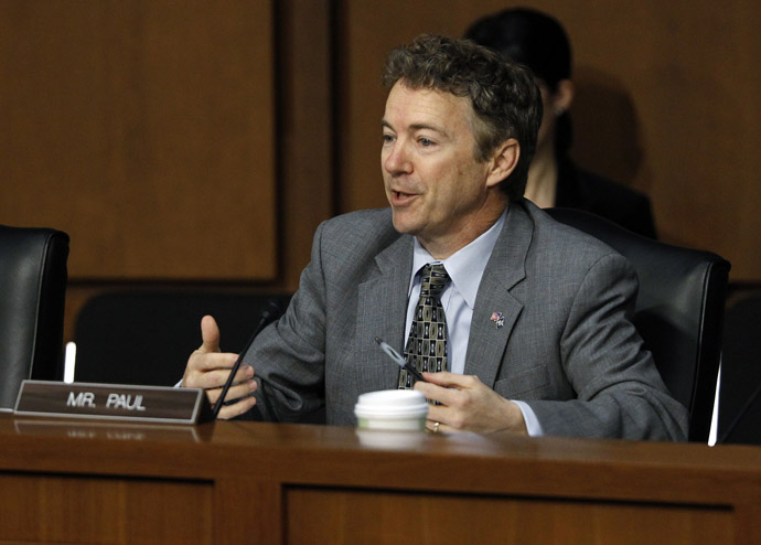 Senator Rand Paul (R-KY) (Reuters/Gary Cameron)