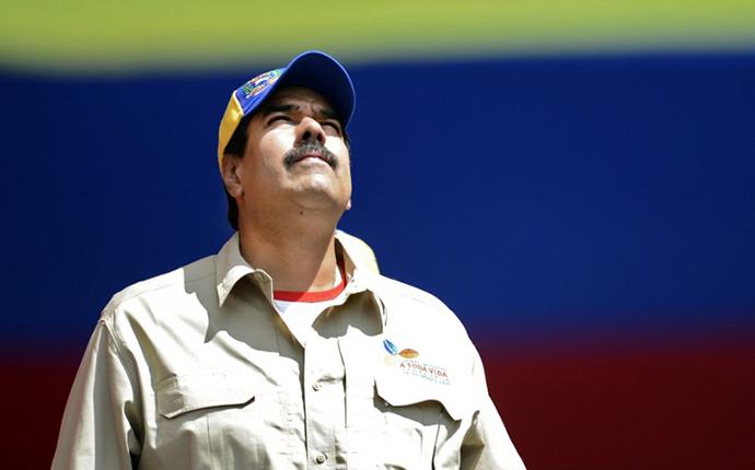 Venezuelan Vice-President Nicolas Maduro. (AFP Photo / Juan Barreto)