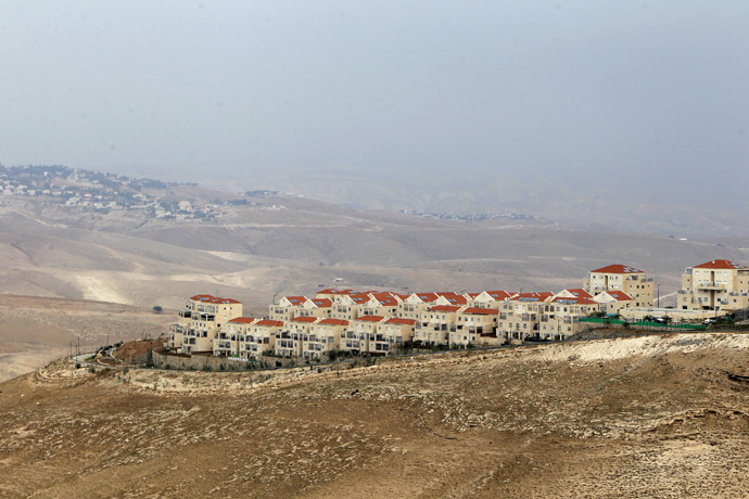 A view shows the West Bank Jewish settlement of Maale Adumim near Jerusalem (Reuters/Ammar Awad)