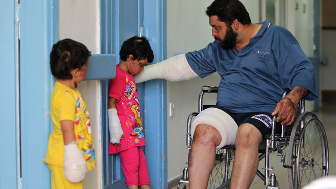 'In war-torn Syria, my enemy's doctor is my enemy'