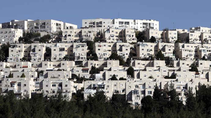 A general view of Ramat Shlomo, a Jewish settlement in the mainly Palestinian eastern sector of Jerusalem, seen on December 18 2012 (AFP Photo / Ahmad Gharabli)