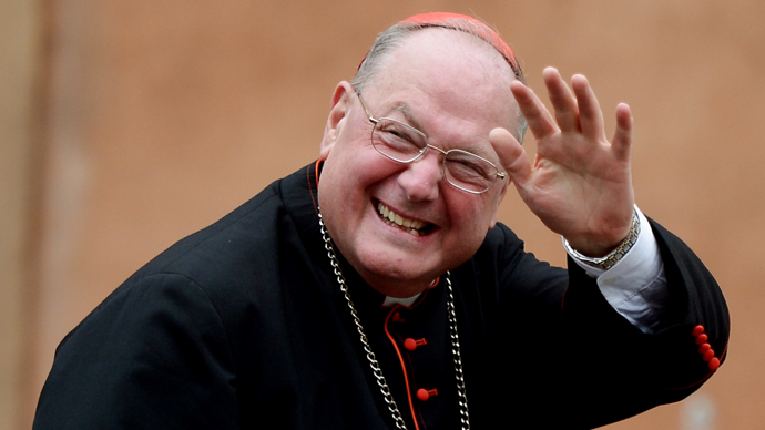 US cardinal Timothy Michael Dolan. (AFP Photo / Filippo Monteforte)