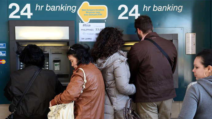 Cyprus levy on savings: 'An armed robbery by Brussels'