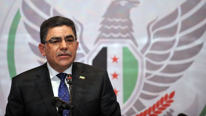 Syrian opposition's interim PM 'there to fulfill US agenda'