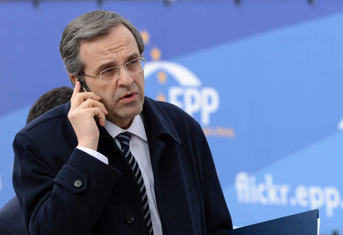 Antonis Samaras (Reuters / Laurent Dubrule)