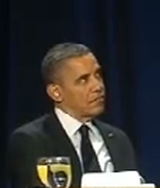 US President Barack Obama.(Screenshot from YouTube user FreedomsLighthouse)