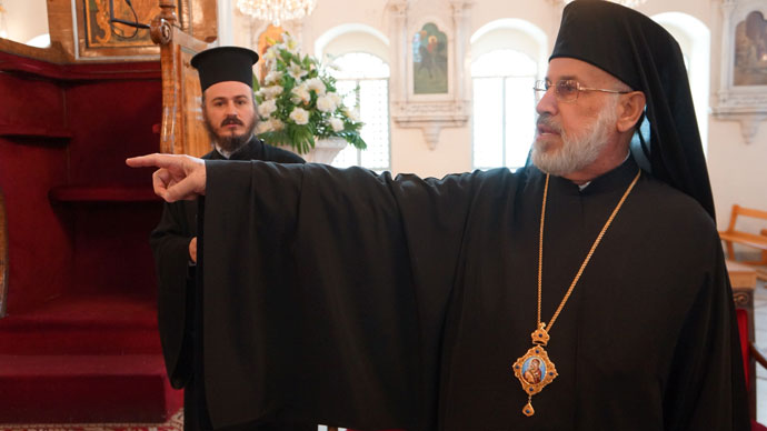 Outsiders are killing Syrian People, destroying Churches and mosques - Christian Bishop