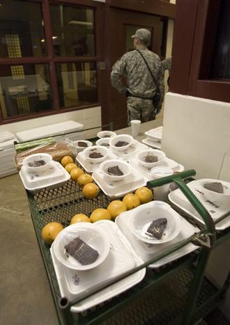 The US Naval Base, in Guantanamo Bay, Cuba. (AFP Photo / Paul J. Richards)