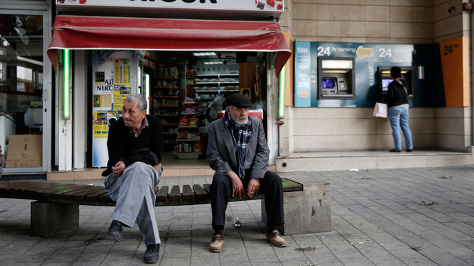 The Sword of Damocles hangs over Cyprus