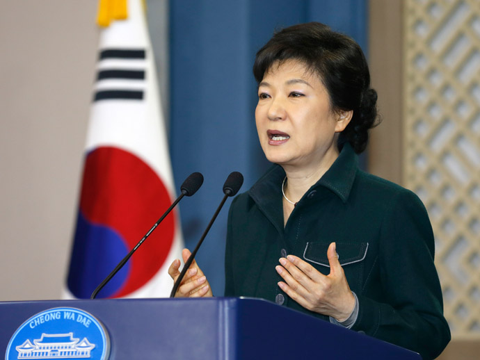 South Korea's President Park Geun-Hye (AFP Photo)
