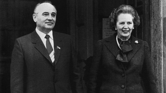 Thatcher and the Soviet Union: The Iron Lady who helped bring down the 'Evil Empire'