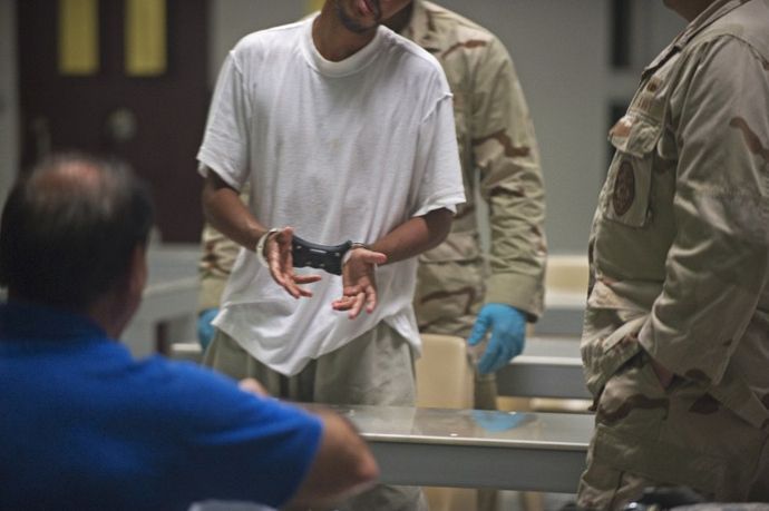 Guantanamo Bay, Cuba. (AFP Photo / Paul J. Richards)