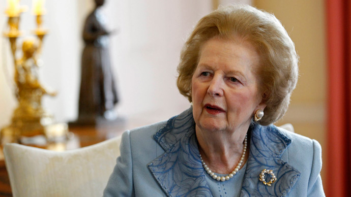 Margaret Thatcher, and the man in the shadows