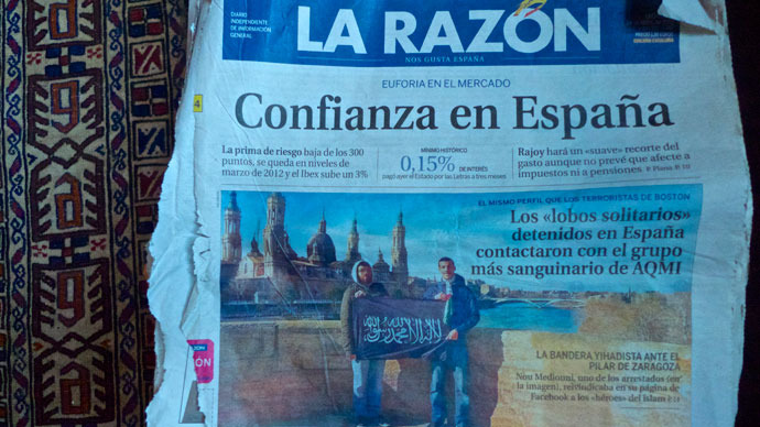 The lone arrangers: Spain deflects austerity attention on 'jihadis'