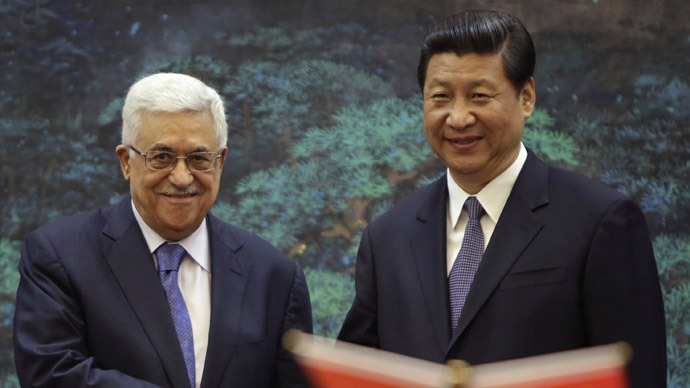'China in position to talk to everyone in Middle East'