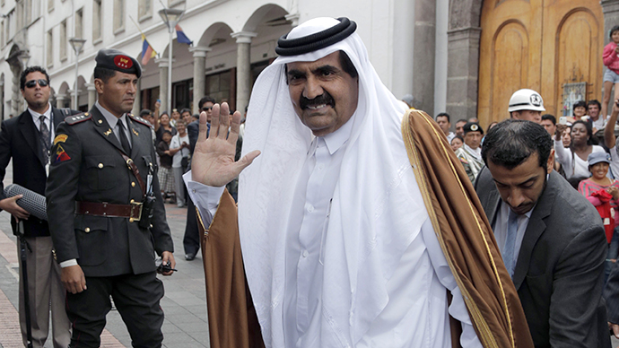 Prince Khalifa al-Thani. (AFP Photo / Pablo Cozzaglio)