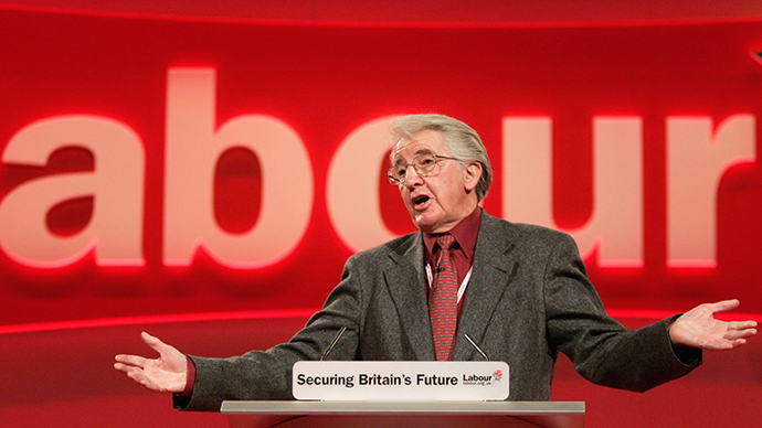 British Member of Parliament (MP) Dennis Skinner. (Reuters)