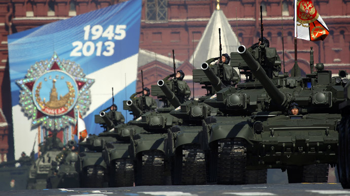 Hey Uncle Sam: Where's our Red Square parade?