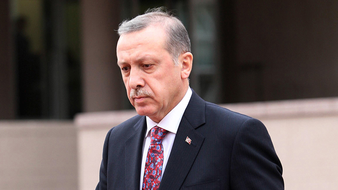 Turkey's Prime Minister Recep Tayyip Erdogan. (AFP Photo / Adem Altan)