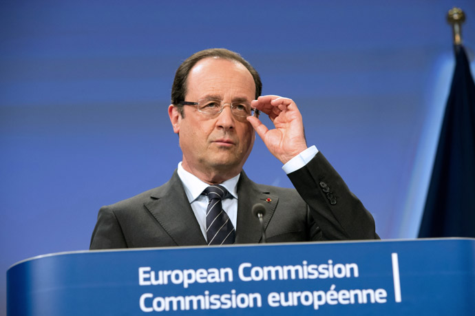 France's President Francois Hollande (AFP Photo)