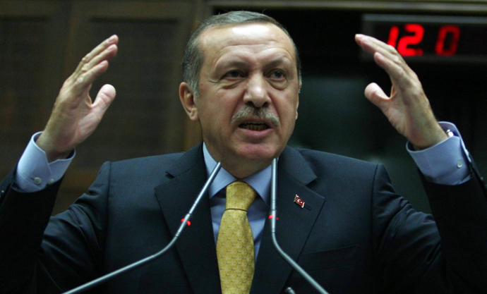 Turkey's Prime Minister Recep Tayyip Erdogan (AFP Photo / Adem Altam)
