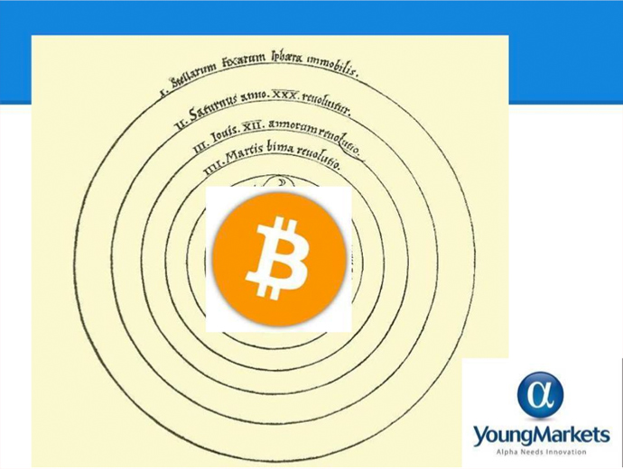 The new universe of money revolving around cryptocurrency such as Bitcoin